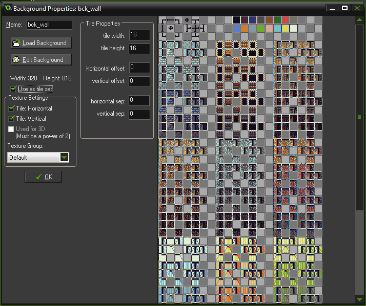 background wall dungeon tutorial game maker studio