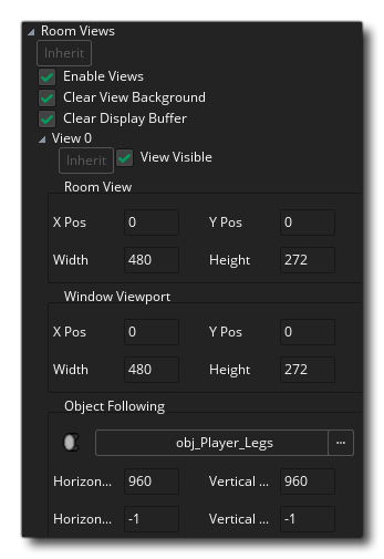 room views editor gms 2