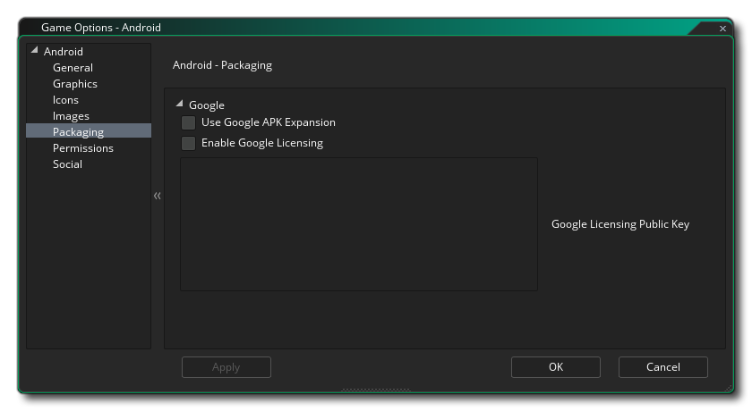 android packaging options gms 2