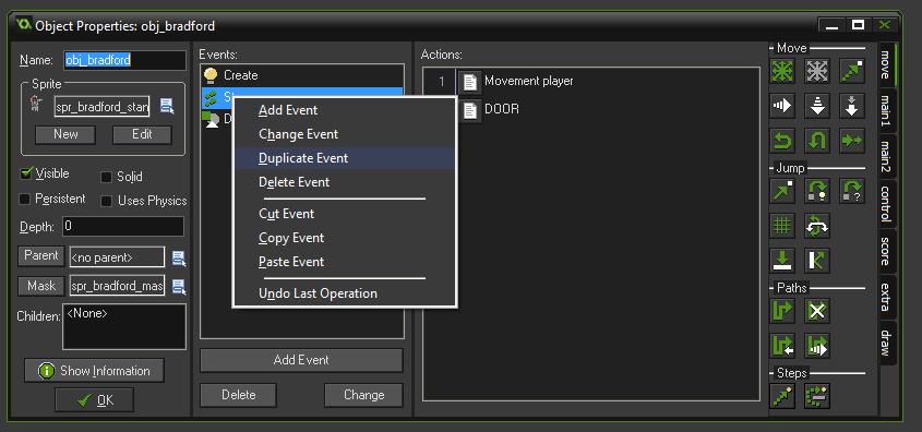 menu eventos gamem aker studio