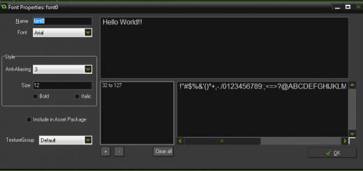 font editor game maker
