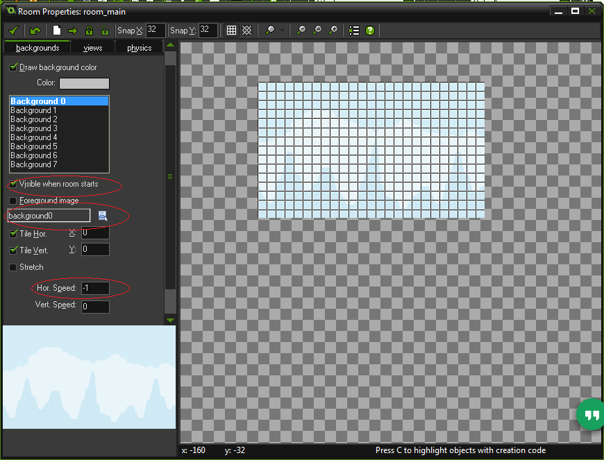 room background tappy plane game maker