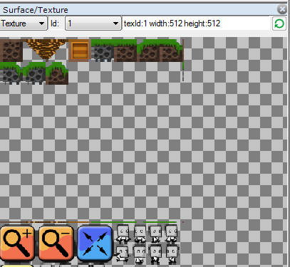 surfaces textures window debug game maker