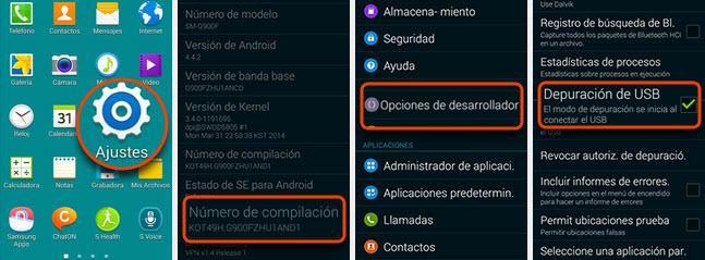 debug mode android mobile