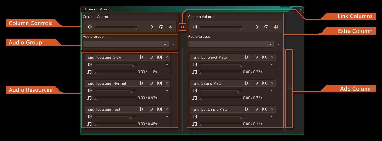 audio mixer gms 2