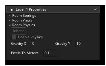 room physics editor gms 2