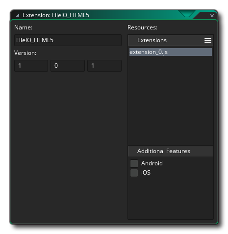 editor extensions gms 2