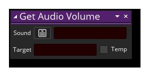 dnd get audio volumen example