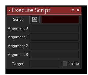 D&D execute script example gms 2