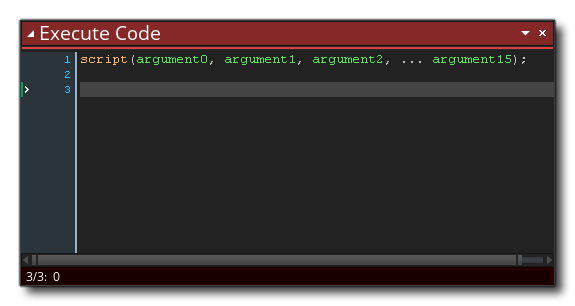 example execute code gms 2